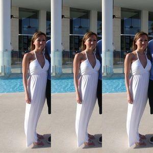Venus White Maxi Dress